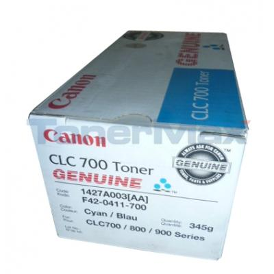 CANON CLC 700 TONER CYAN